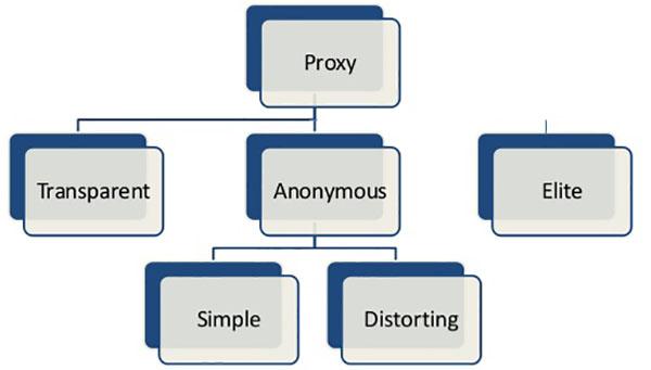SEO Proxy types